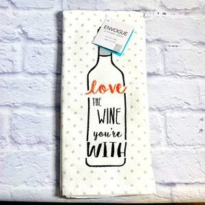🆕 Love The Wine You're With Kitchen Towel Set 🍷